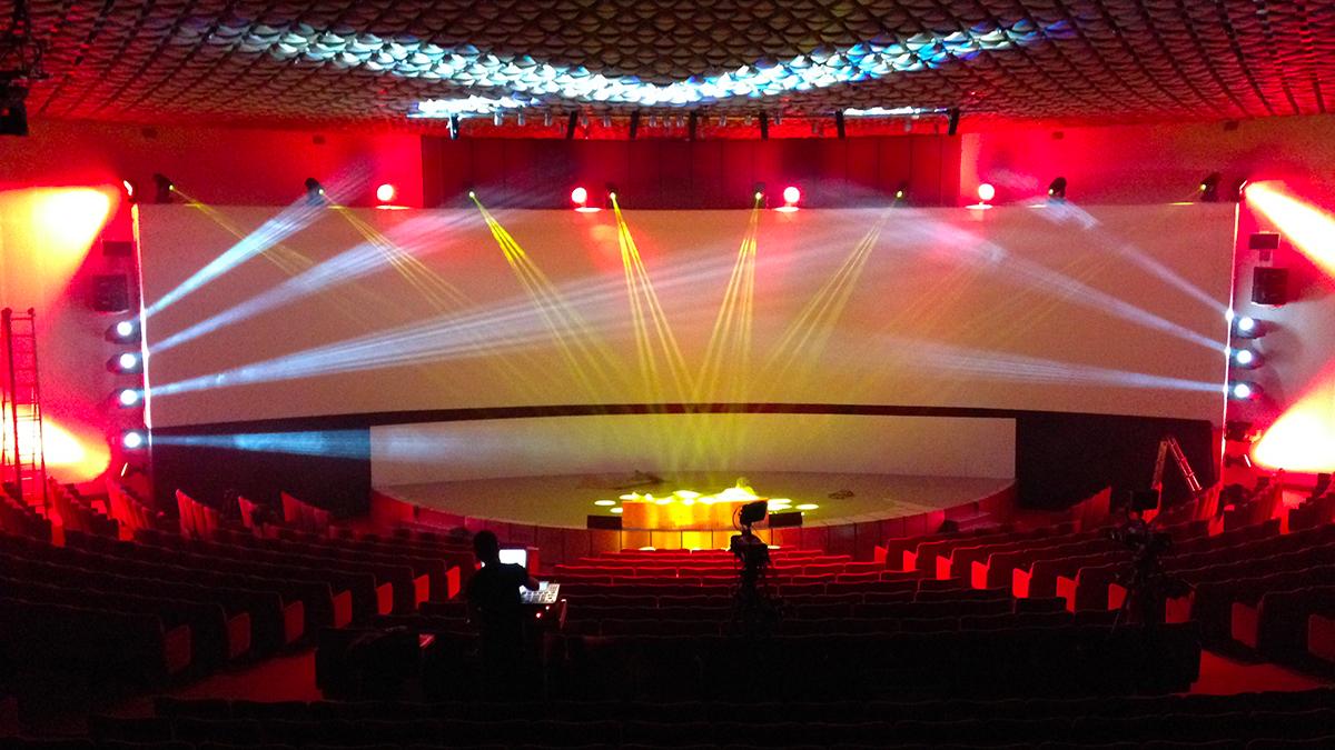 Installazione impianti auditorium