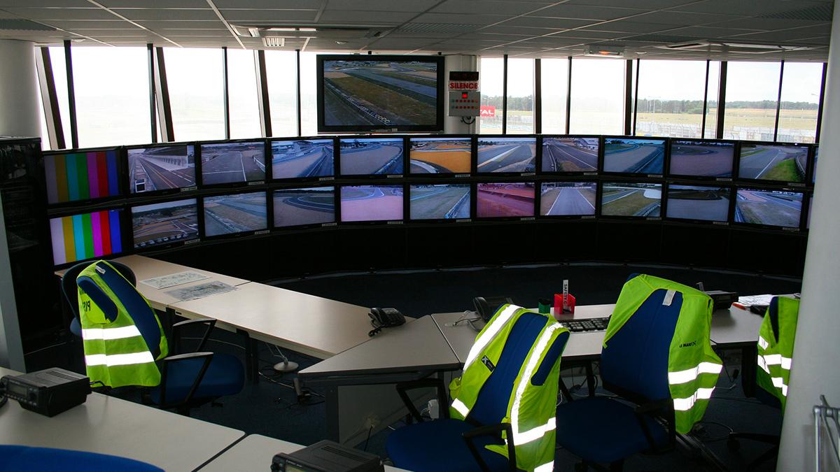 Installazione impianti sala controllo