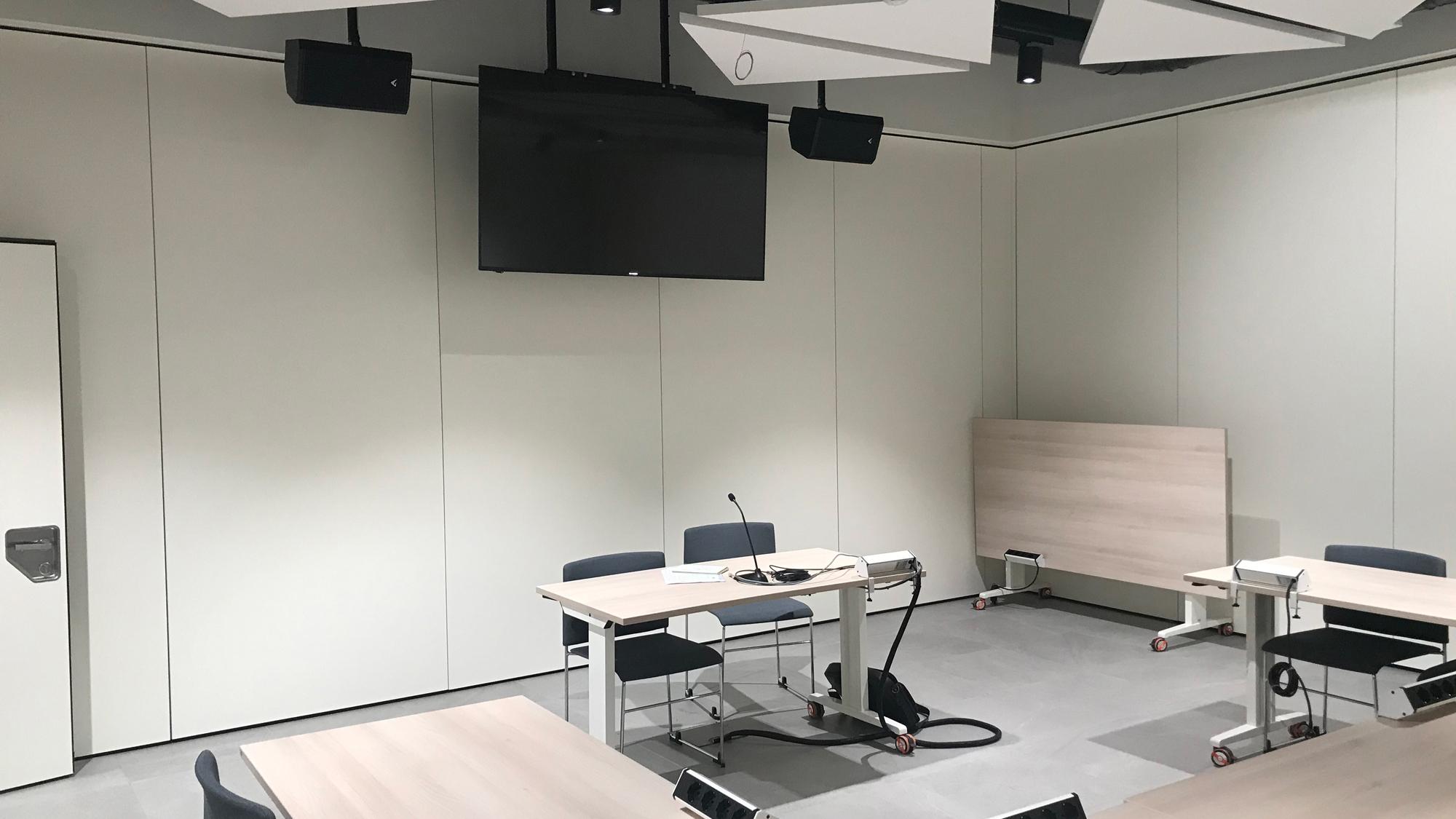 installazione multimediale auditorium smc italia
